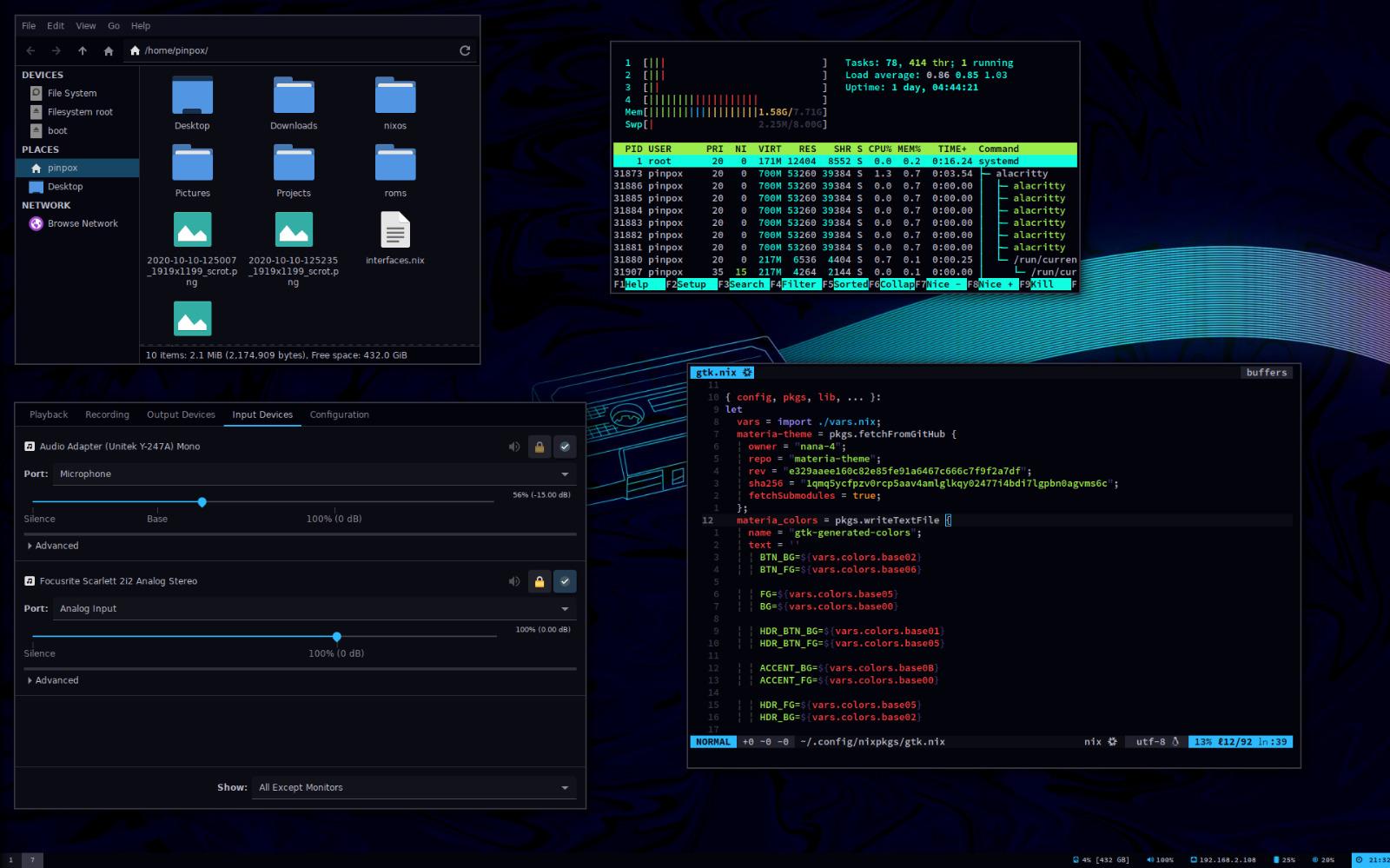 My NixOS Desktop